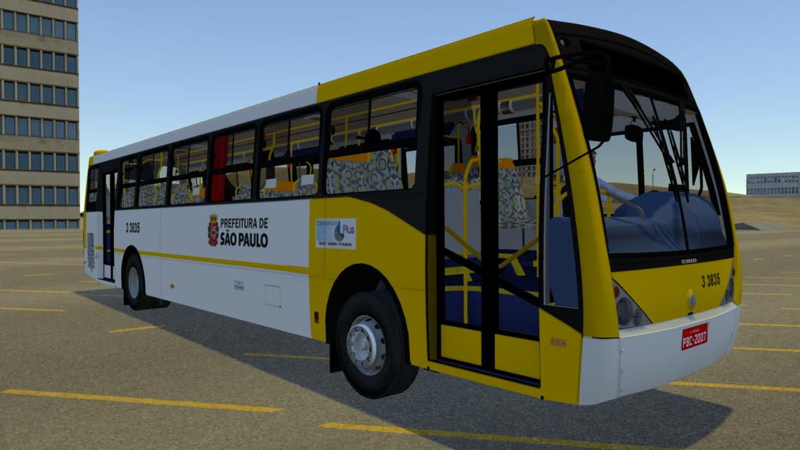 Proton Bus Simulator: Mod Millennium II VW 17.260 EOT (Download) | By: Marceleza