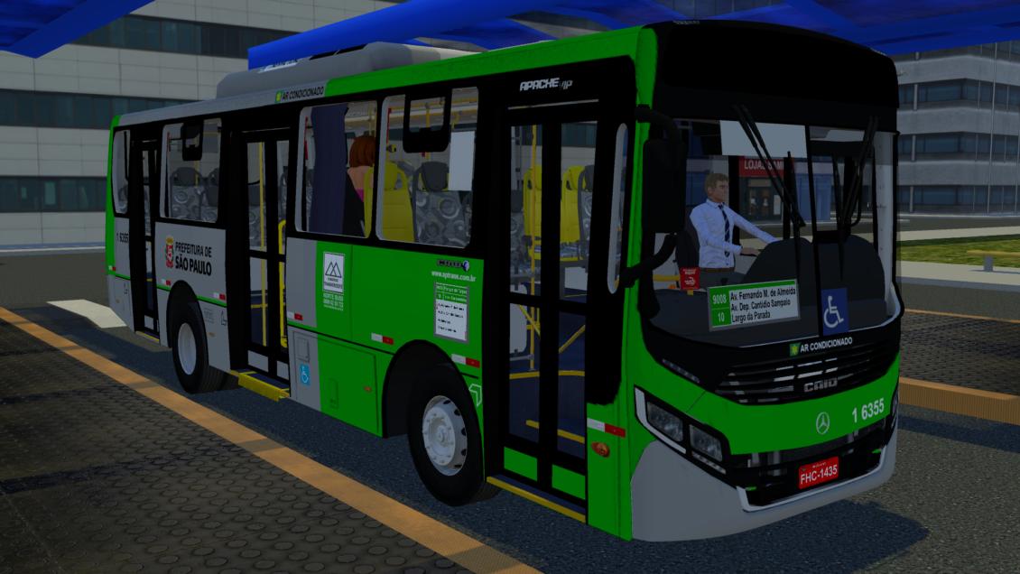 Proton Bus Simulator: Mod Caio Apache Vip IV MIDI OF-1519 BlueTec 5 (Download)   By: Vitor Alexandre