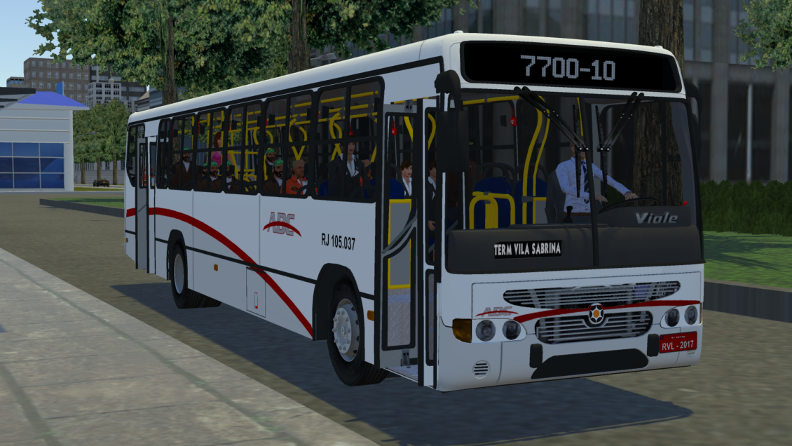 Proton Bus Simulator: Mod Marcopolo Viale OF-1721 Euro II (Download) | By: Eric Ferraz