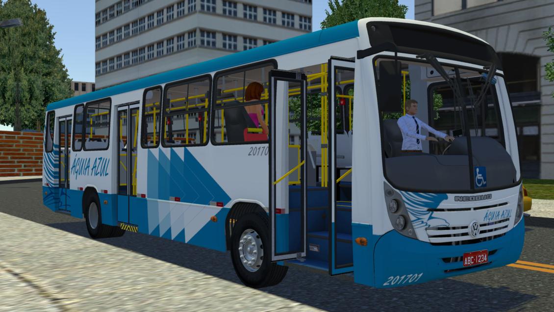 Proton Bus Simulator: Mod Neobus Mega 2006 VW 17.230 EOD (Download) | By: Jeferson Vieira