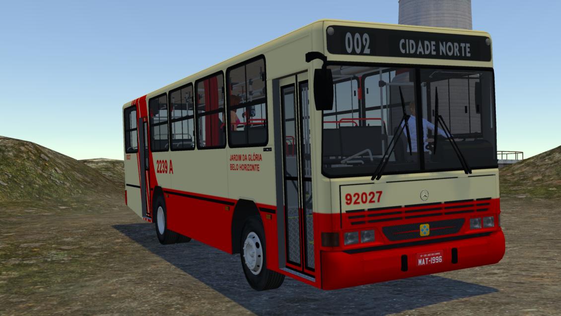 Proton Bus Simulator: Mod Busscar Urbanus 1994 OF-1318 (Download) | By: Luiz Matheus e Jeferson Roca