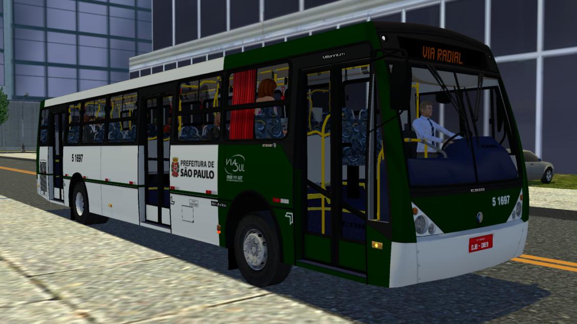 Proton Bus Simulator: Mod Caio Millennium II 0500M – 3 portas (Download) | By: Pedro Henrique Torres