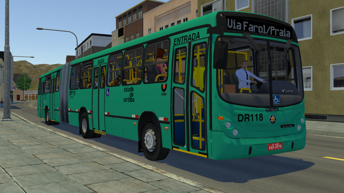 Proton Bus Simulator: Mod Marcopolo Gran Viale MB O500MA (Download) | By: Eric Ferraz