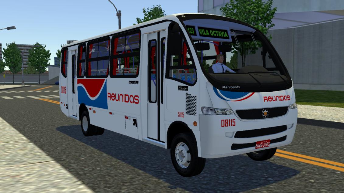 Proton Bus Simulator: Mod Marcopolo Sênior 2000 MB LO-914 (Download) | By: Marceleza