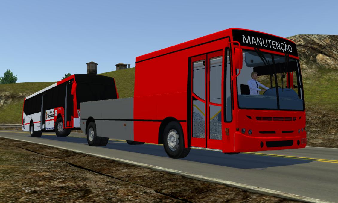 Proton Bus Simulator: Mod Caio Apache S21 OF-1721 Euro II Guincho (Download) | By: Mateus Pimentel