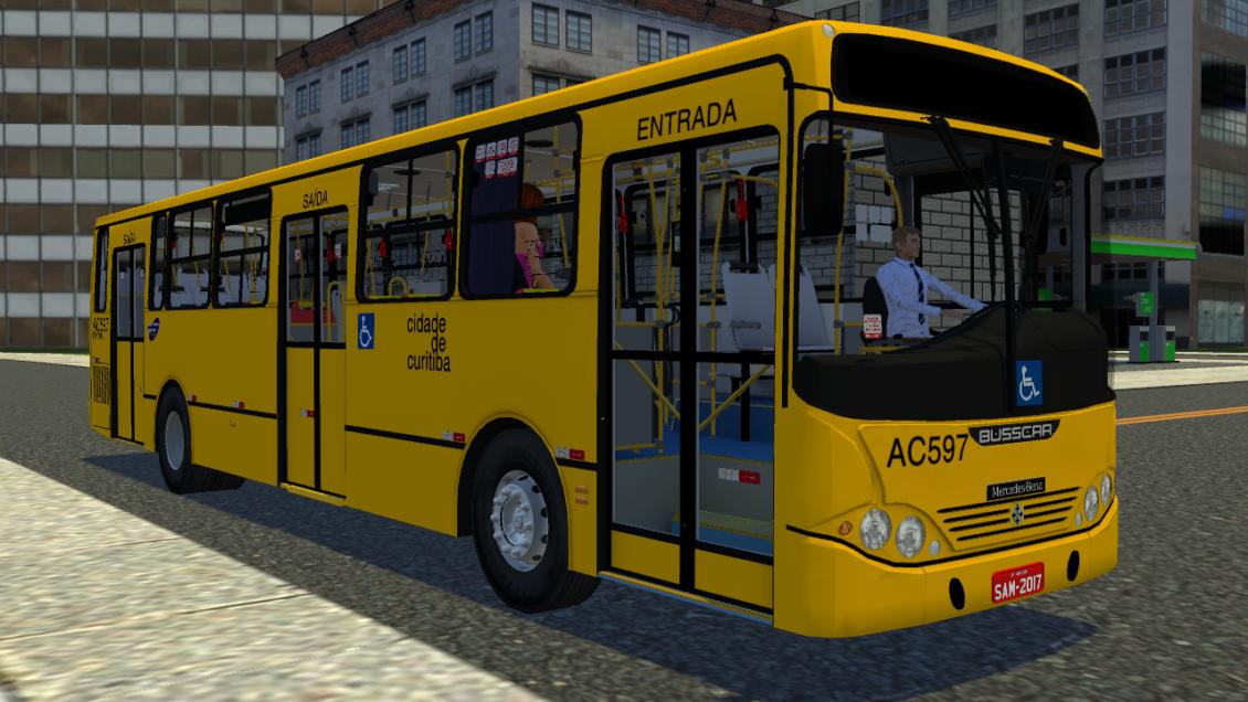 Proton Bus Simulator: Mod UrbanusS O500M (Download) | By: Eric Ferraz