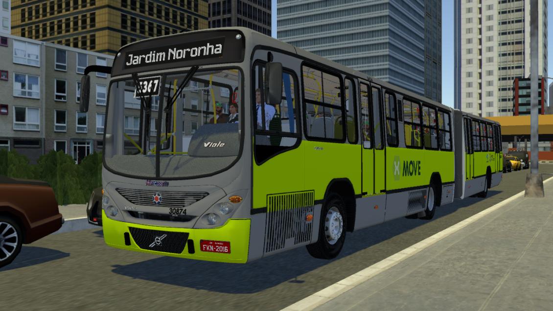 Proton Bus Simulator: Mod Gran Viale Volvo B12M (Download) | By: Jeferson Roca