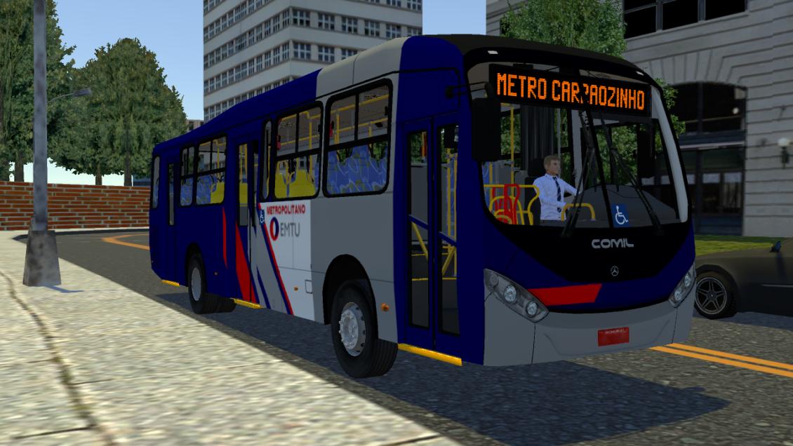 Proton Bus Simulator: Mod Comil BRS MB O500M BlueTec 5 (Download)   By: Marceleza