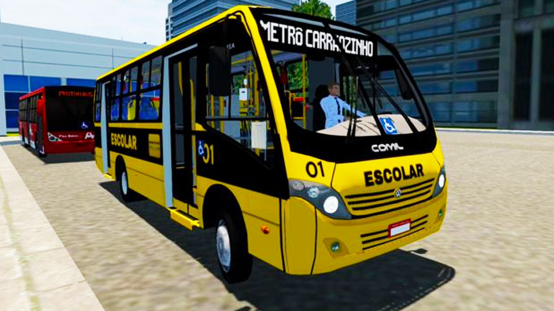 Proton Bus Simulator: Mod Comil Piá 2008 VW 9.150 EOD (Download) | By: Marceleza