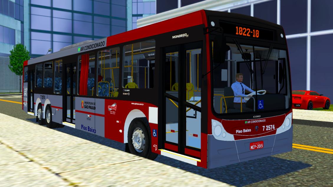 Mod do Mondego H Scania K310 para Proton Bus Simulator