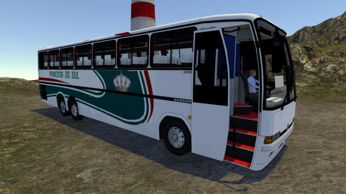 Proton Bus Simulator: Mod Marcopolo Viaggio GV | By: Marceleza