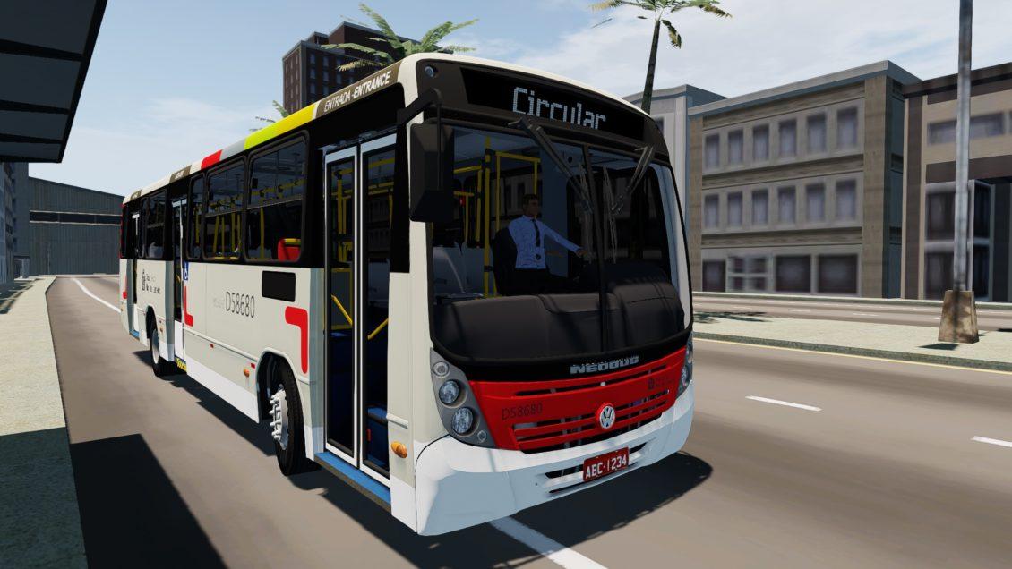 Mod do Neobus Mega 2006 para Proton Bus Simulator