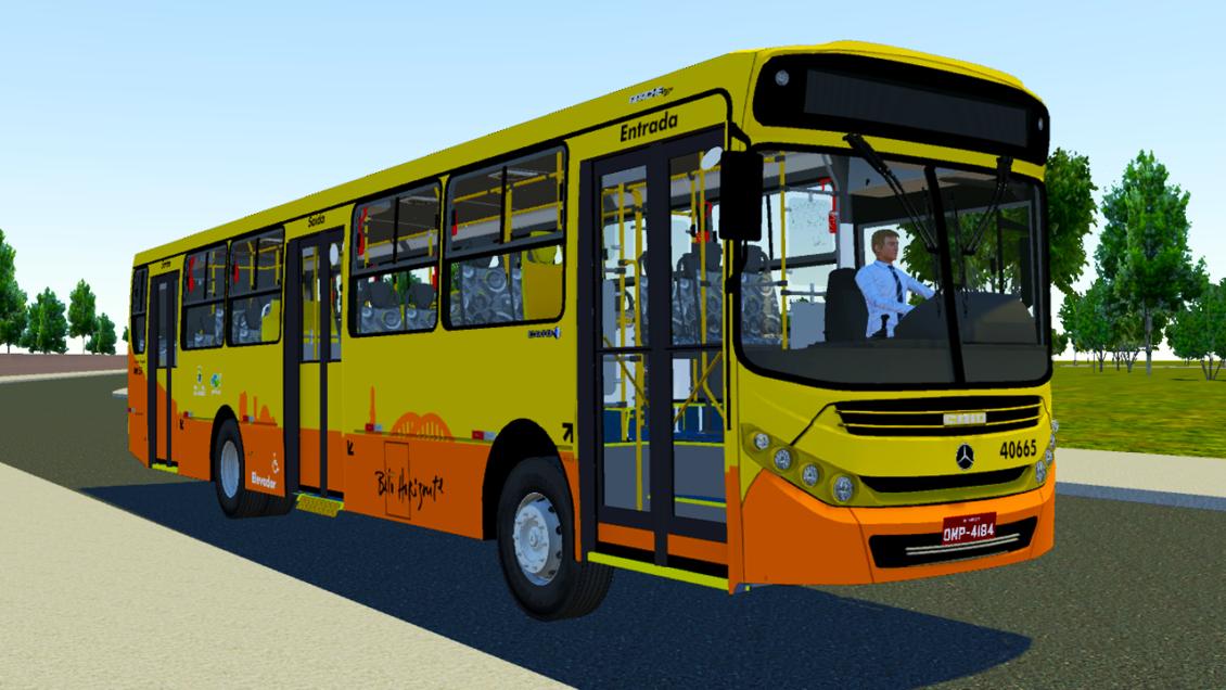 Mod Caio Apache VIP 3 OF 1721 BT5 para Proton Bus Simulator