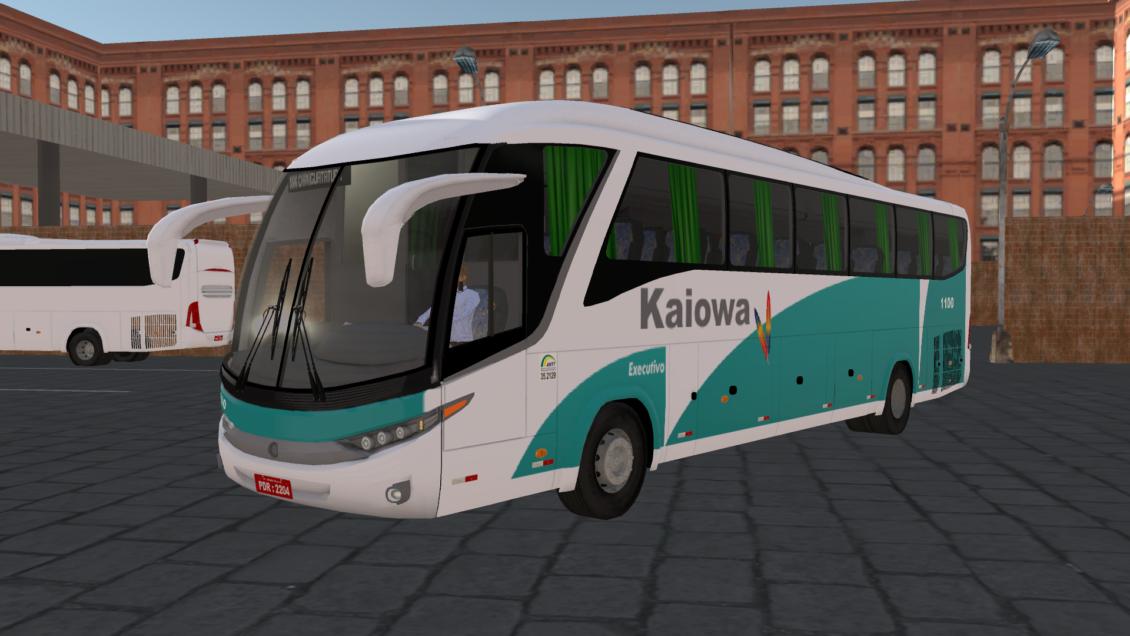 Proton Bus Simulator Road: Skin Marcopolo G7 1200 – Viação Kaiowa (Download)