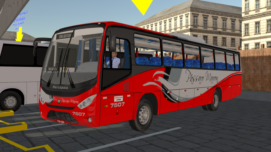 Proton Bus Simulator Road: Ideale 770 – Skin Pássaro Marrom (Download)