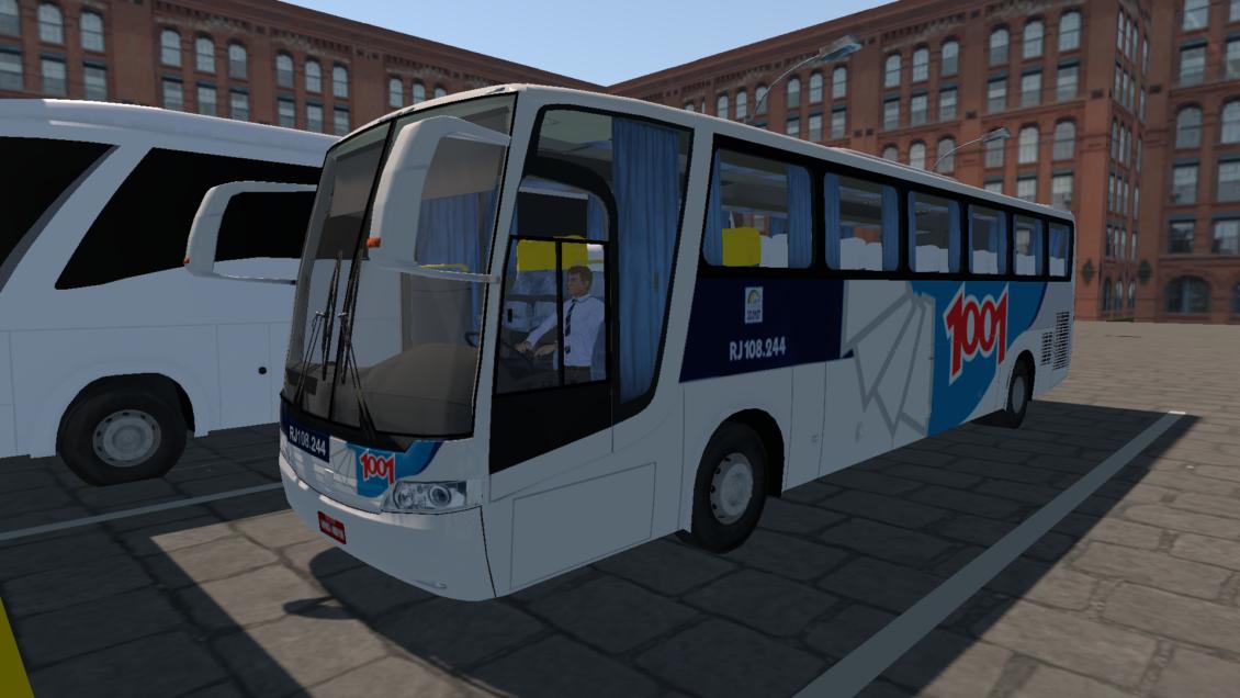 Proton Bus Simulator Road: Busscar Vissta Buss LO – Skin Viação 1001 (Download)