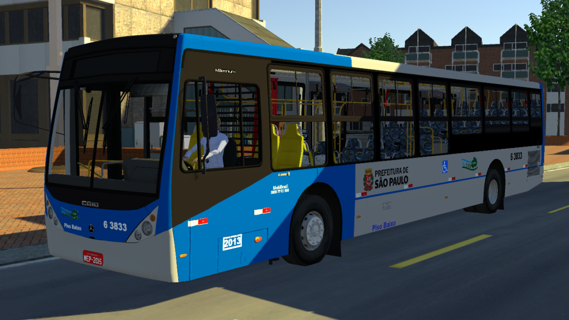 Proton Bus Simulator: Mod Caio Millennium III O500U BlueTec 5 (Download)