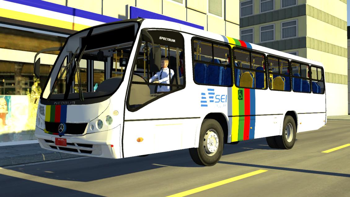 Proton Bus Simulator: Mod Neobus Spectrum OF-1418 (Download)