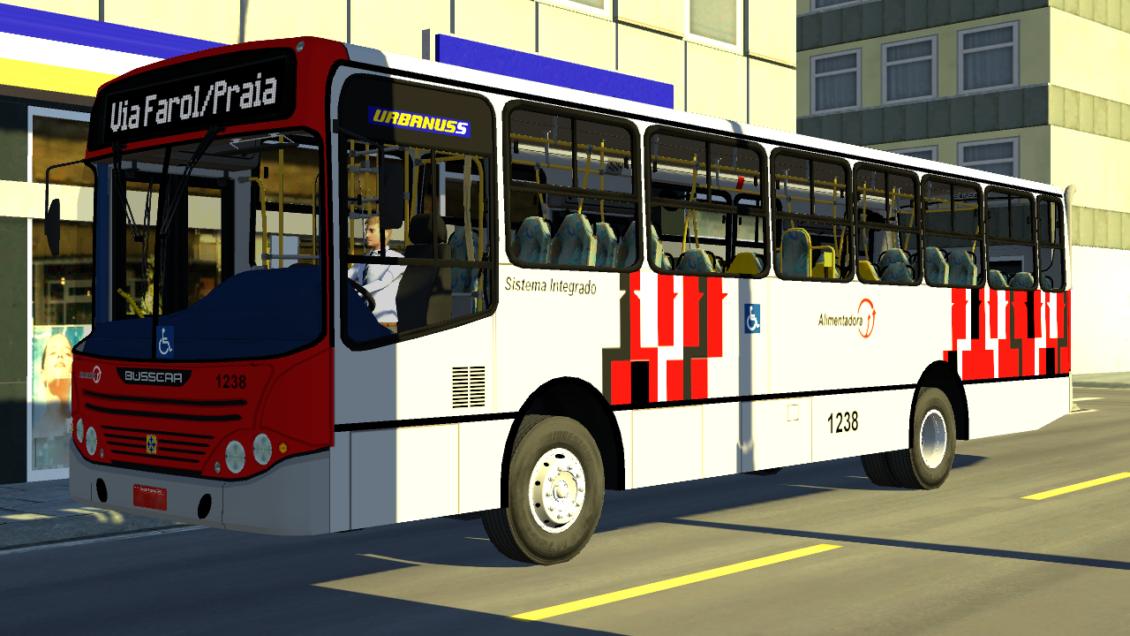 Proton Bus Simulator: Mod Busscar Urbanus VW 16.210 CO (Download)
