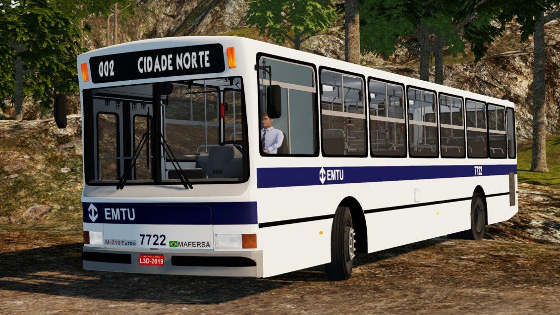Proton Bus Simulator: Mod Mafersa M-210 Turbo (Download)