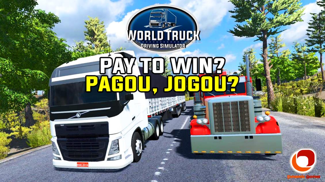 World Truck Driving Simulator se tornou um jogo 'Pay to Win'?