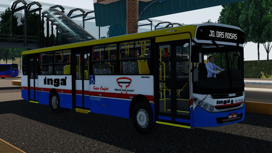 Pron Bus Simulator: Skin Auto Lotação Ingá para Apache Vip III (Download)