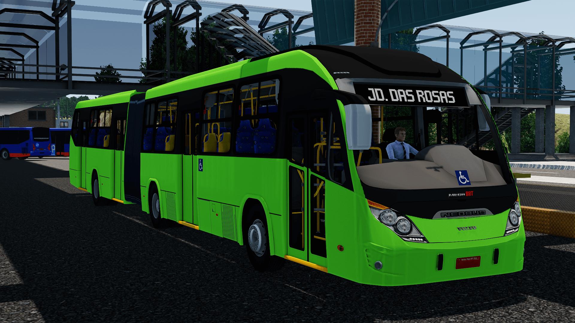 Proton Bus Simulator: Mod Neobus Mega BRT 2016 Vol – B340M (Download)