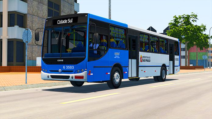 Mod do Caio Apache S21 STD VW 17.210 EOD para Proton Bus Simulator