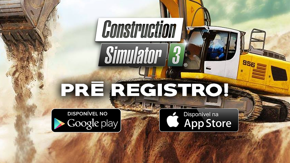 Construction Simulator 3: Pré Registro para Android e iOS