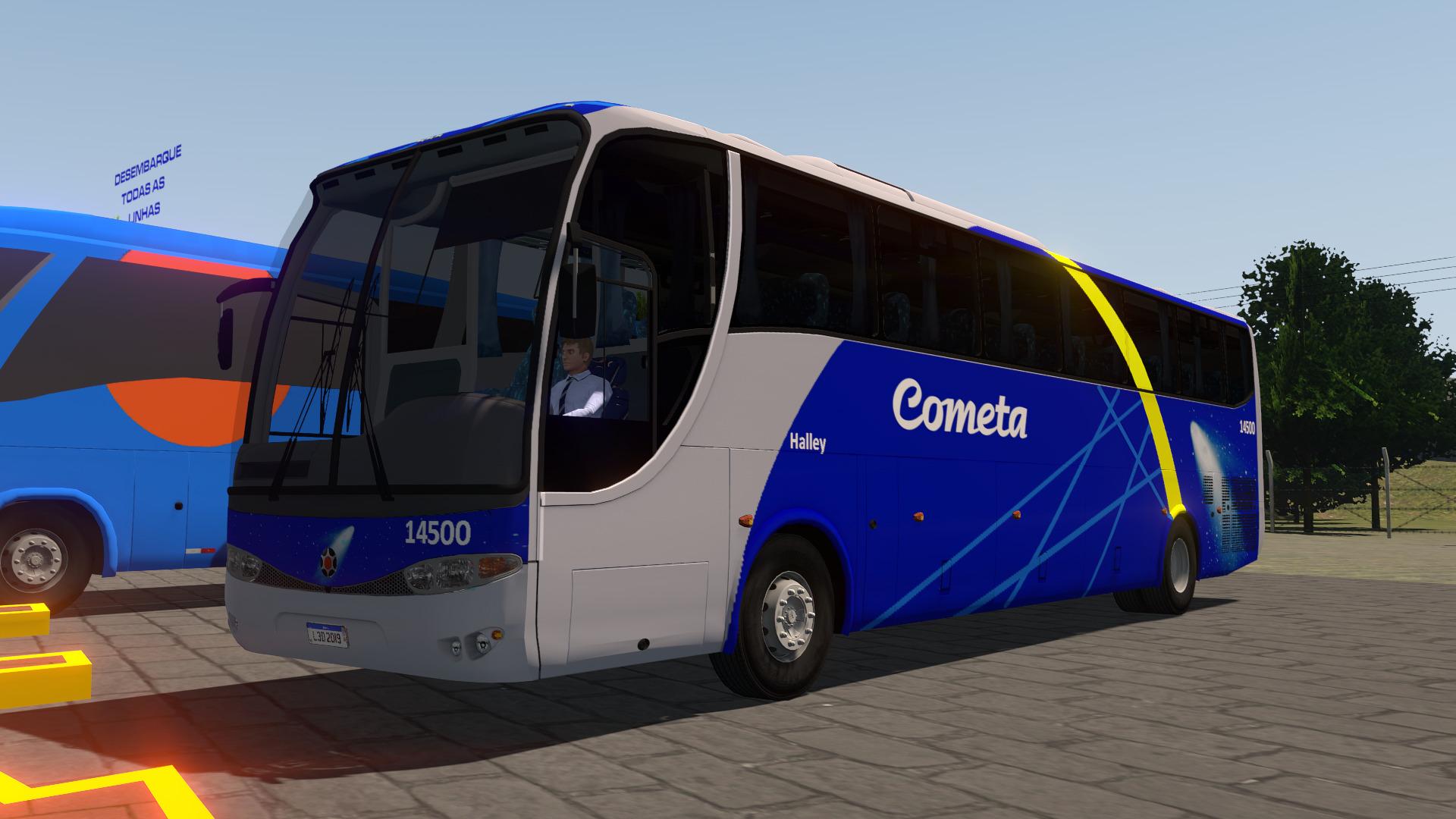 Mod do Marcopolo Viaggio G6 1050 para Proton Bus Simulator