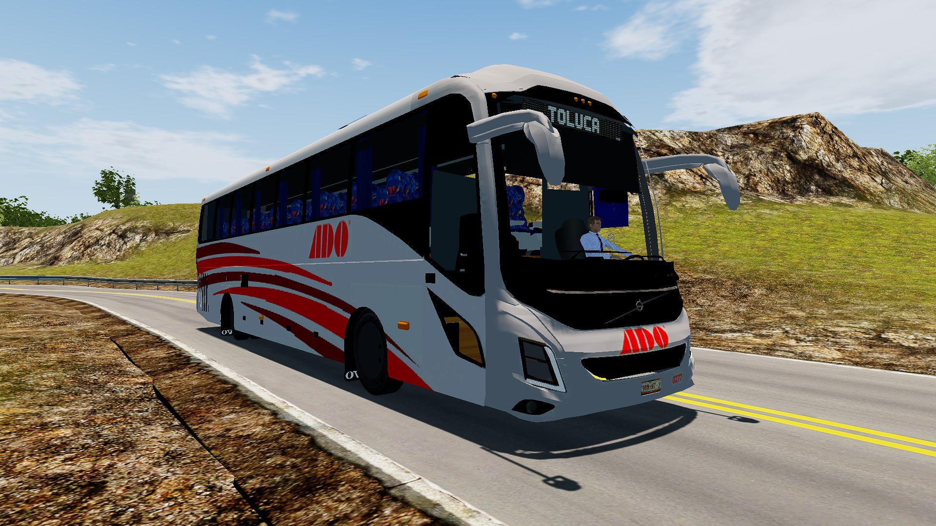 Imagem parte frontal do ônibus