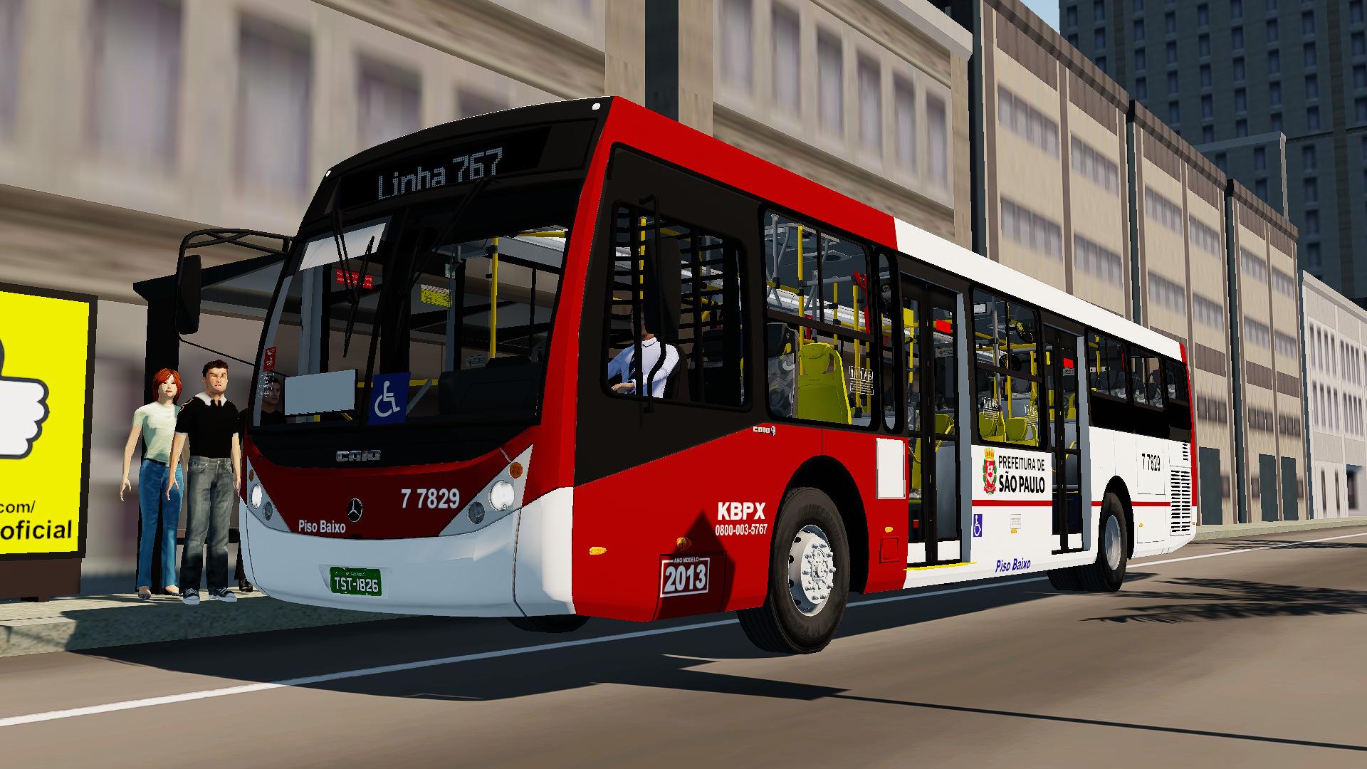 Mod do Caio Millennium III O500U BlueTec 5 (SP) para Proton Bus Simulator