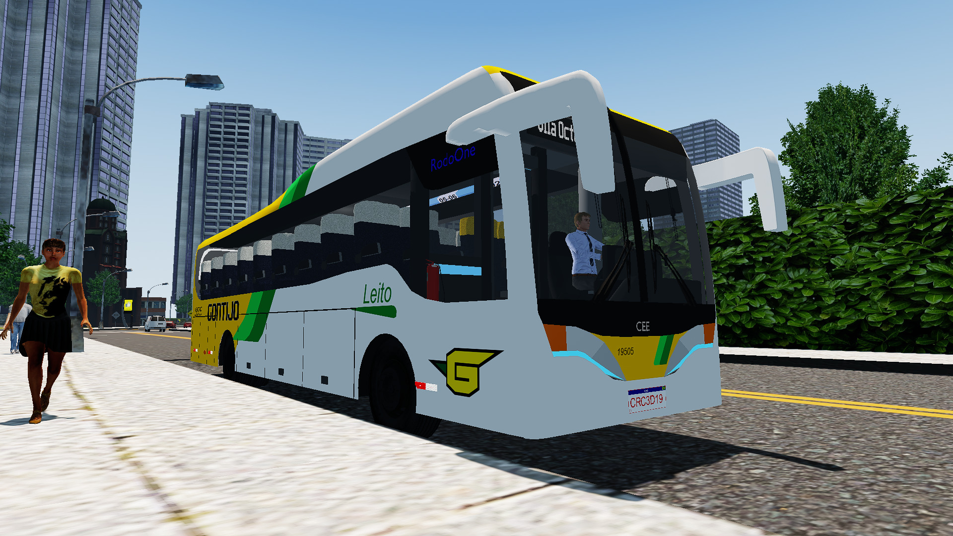 Mod do Cee Rodoone MB O-500RS BT5 (4×2) para Proton Bus Simulator/Road
