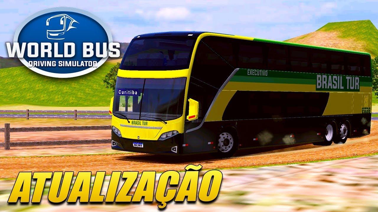 SAIU! Nova Atualização do World Bus Driving com Novo Ônibus! (Download)