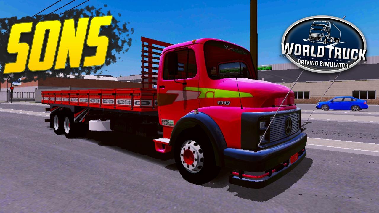 Pack de Sons para Mercedes-Benz 1313 – World Truck Driving Simulator