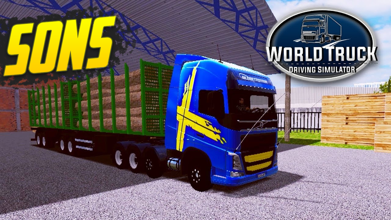 Pack de Sons para Volvo FH 750 – World Truck Driving Simulator