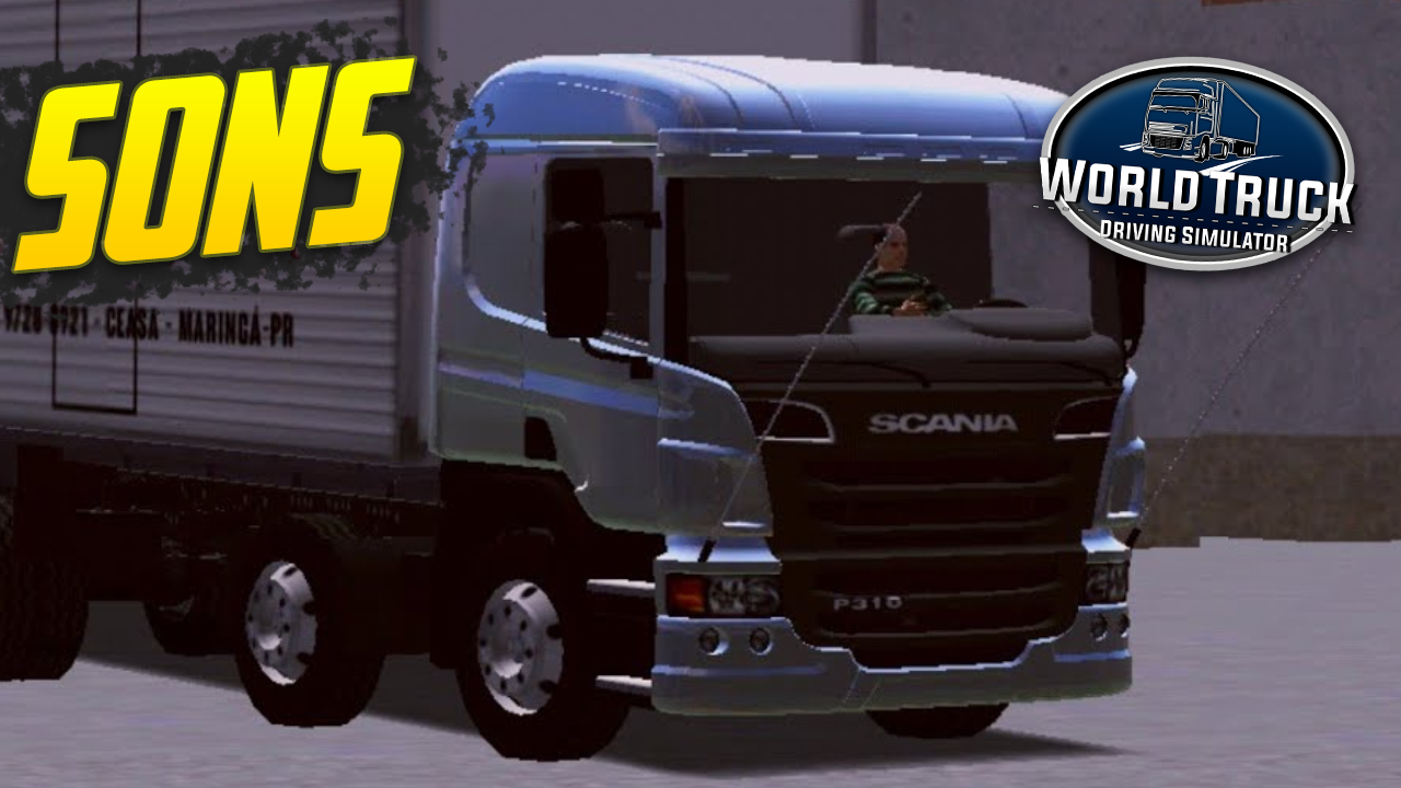 Pack de Sons para Scania P310 – World Truck Driving Simulator