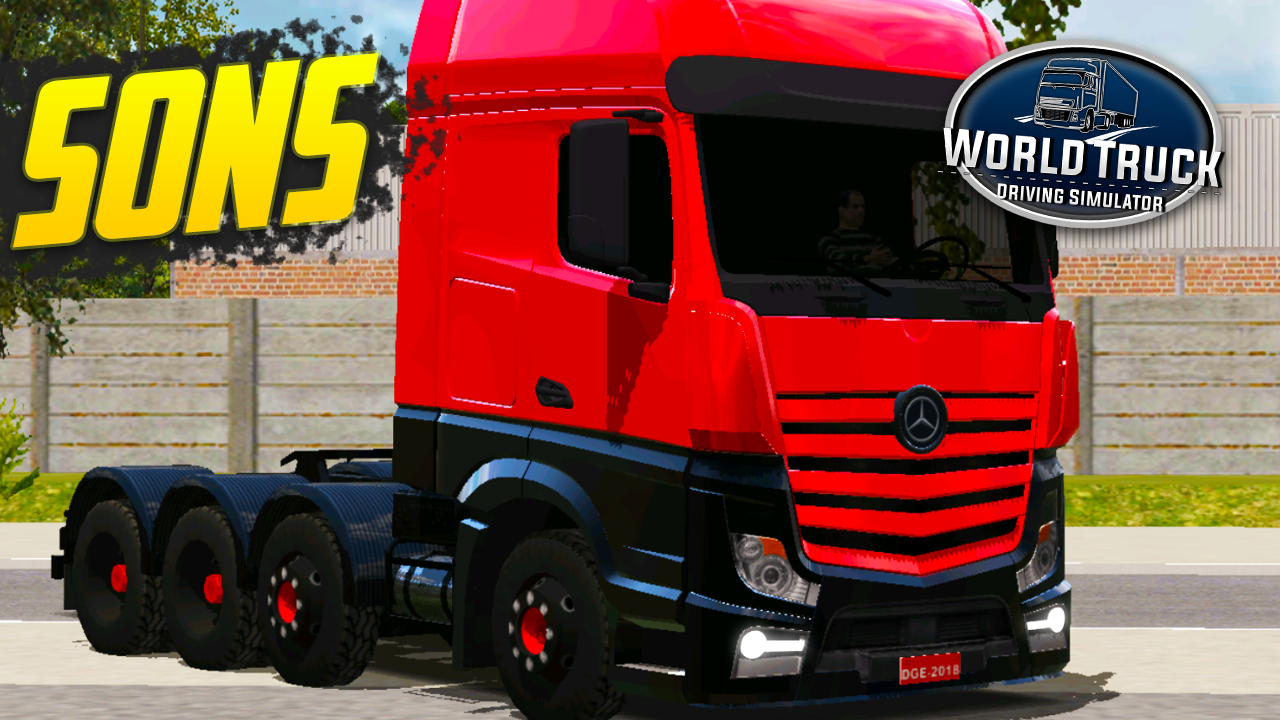 Pack de Sons para Mercedes-Benz Actros – World Truck Driving Simulator
