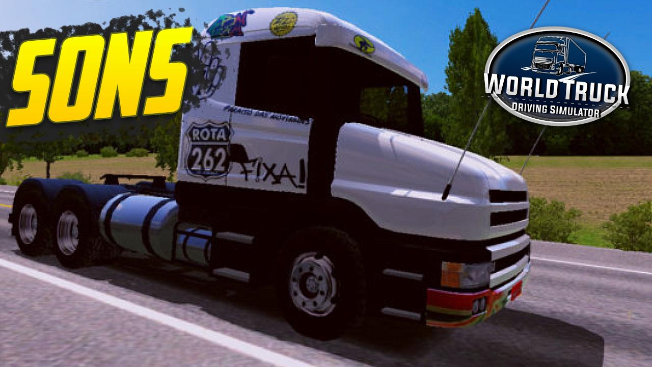 Pack de Sons para Scania 114 Bicuda – World Truck Driving Simulator