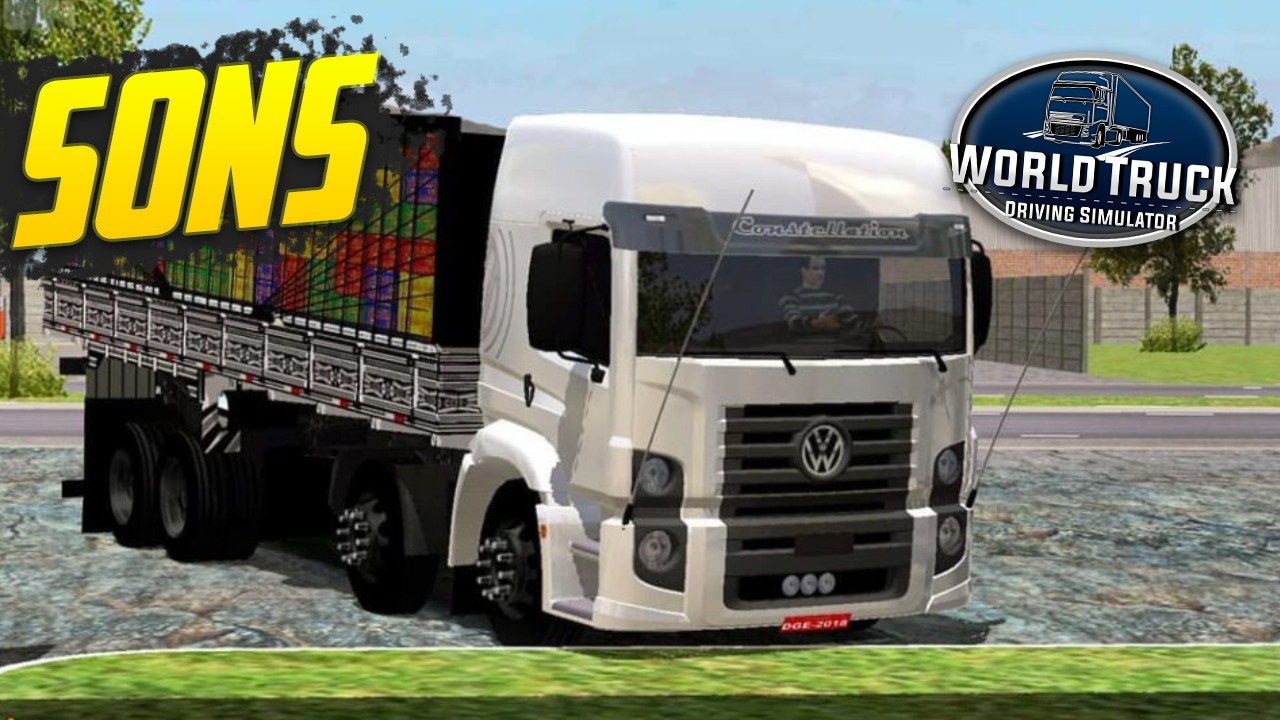 Pack de Sons para Constellation – World Truck Driving Simulator