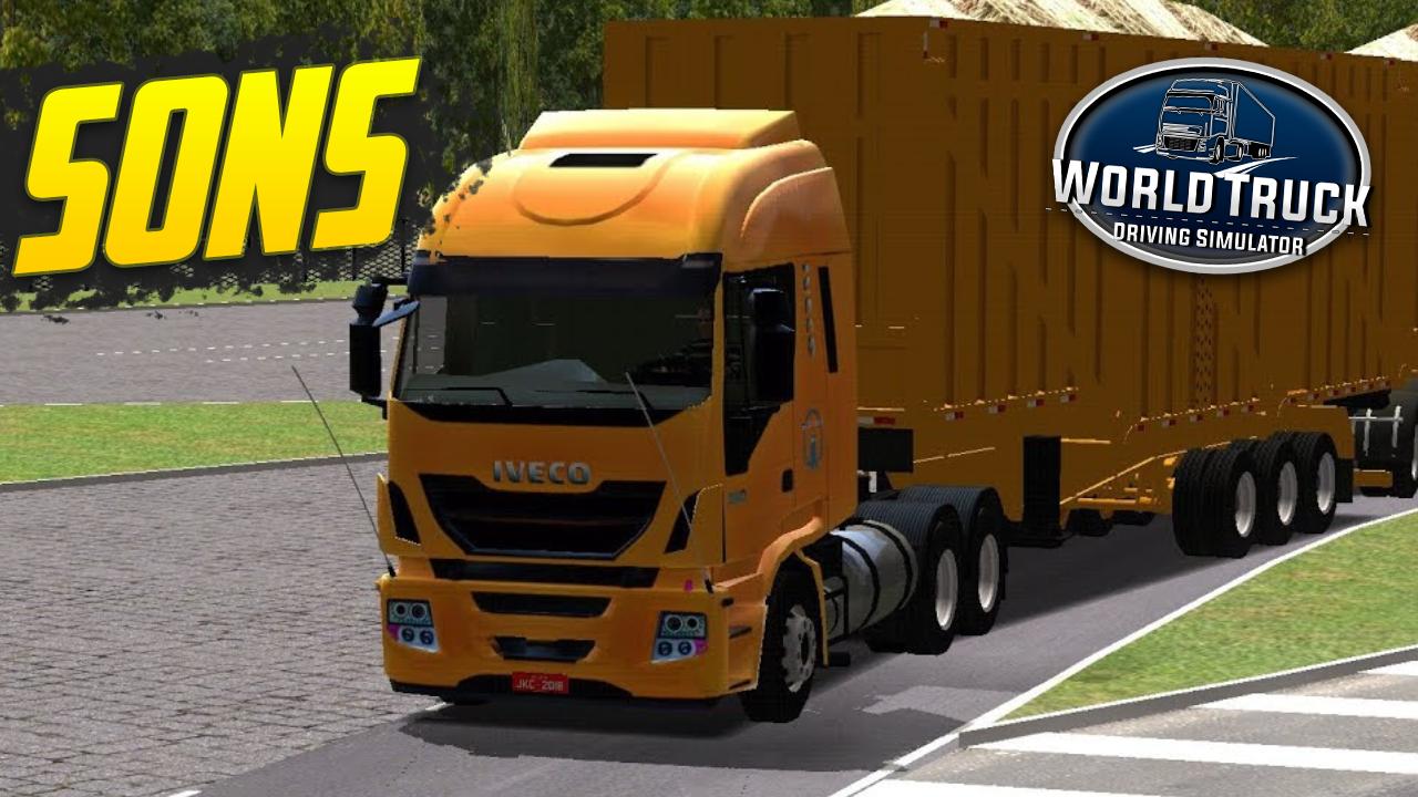 Pack de Sons para Iveco HI-WAY – World Truck Driving Simulator