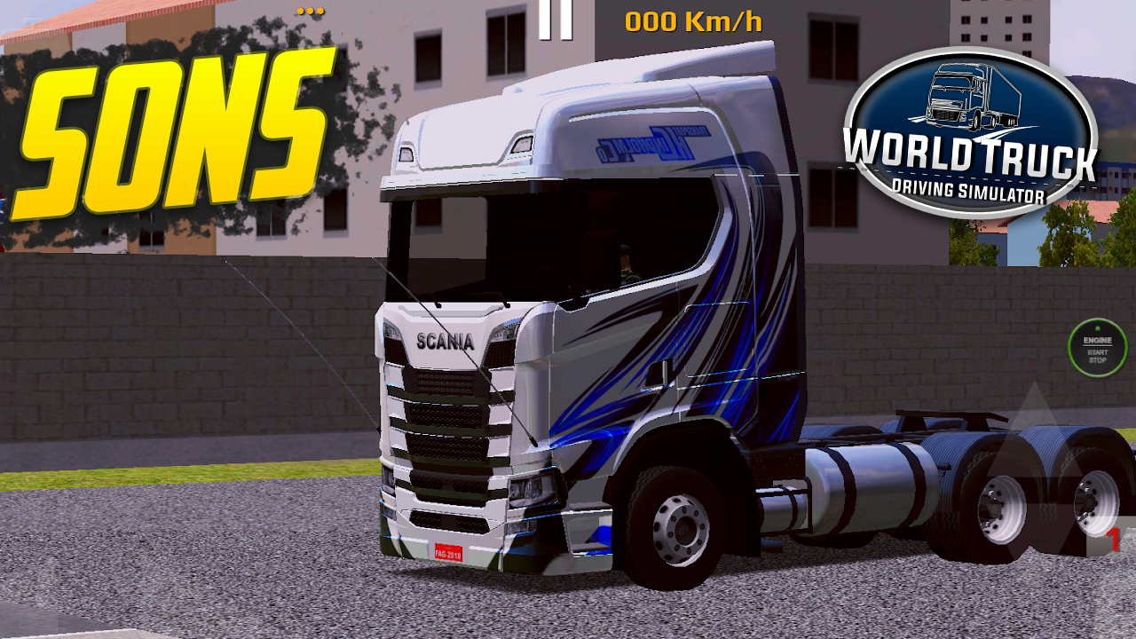 Pack de Sons para Scania S – World Truck Driving Simulator