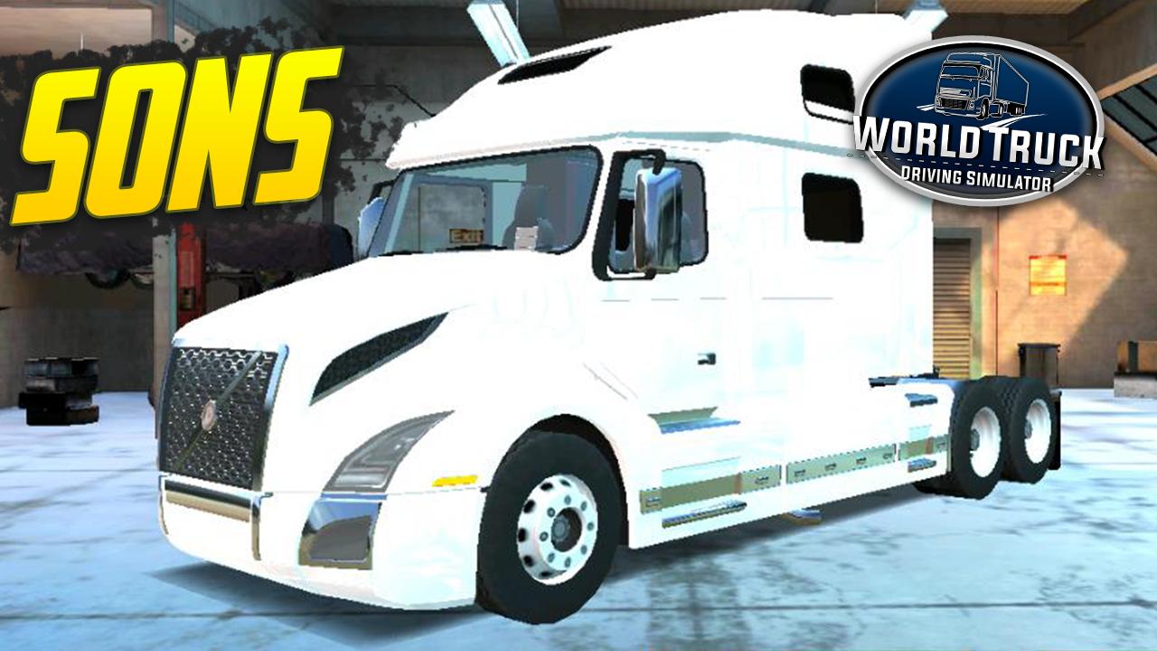 Pack de Sons para Volvo VNL – World Truck Driving Simulator