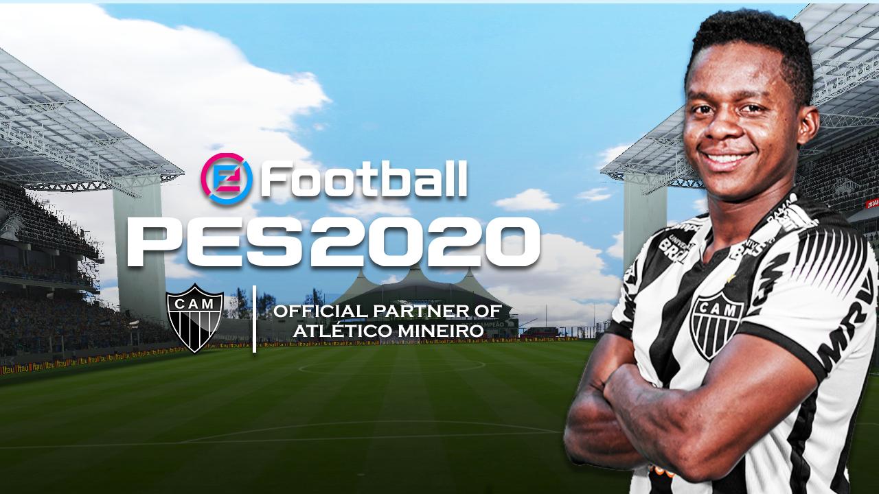 Atlético-MG é o novo parceiro da Konami em PES 2020!