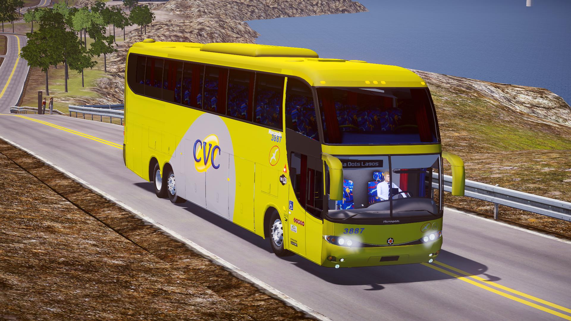 Mod do Marcopolo Paradiso G6 1550LD MB O500RSD (6×2) para Proton Bus Simulator/Road
