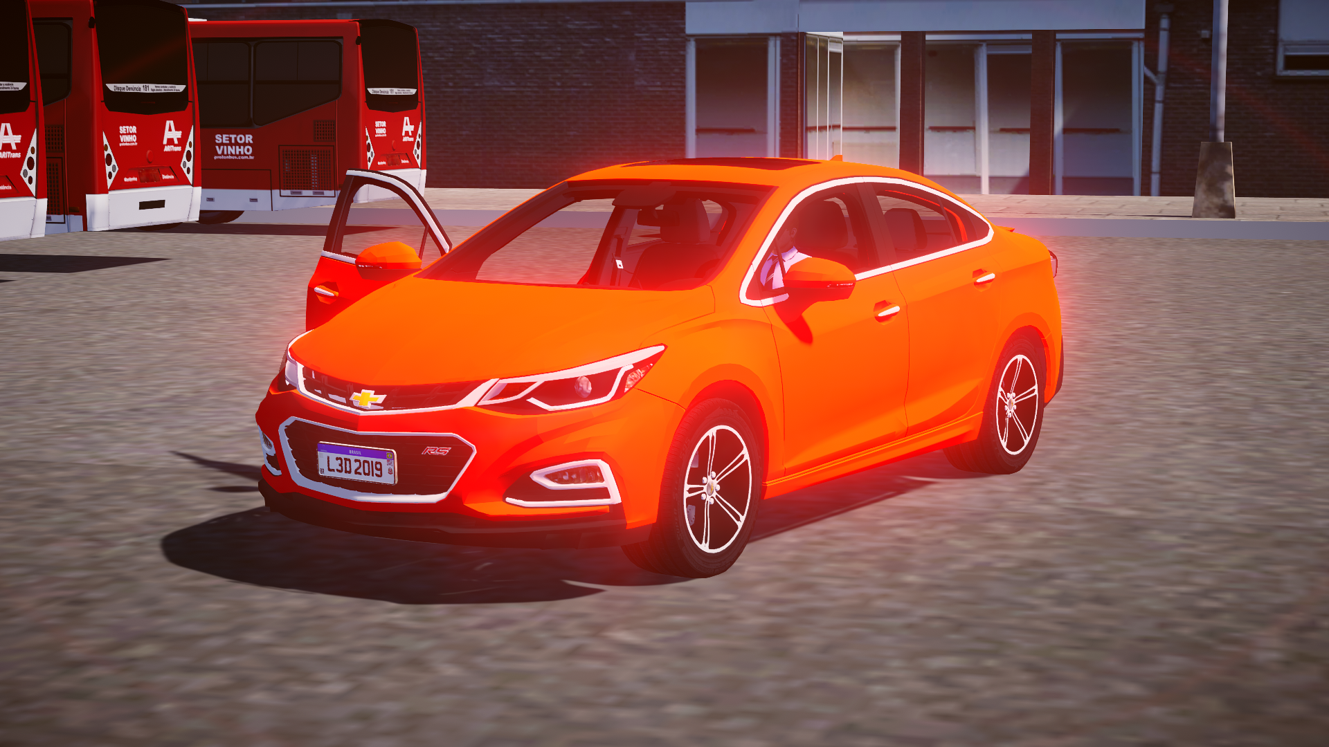 Mod do Chevrolet Cruze RS 2018 para Proton Bus Simulator
