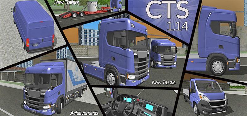 Atualização Cargo Transport Simulator: Novos caminhões, carros, cargas e conquistas (Download)