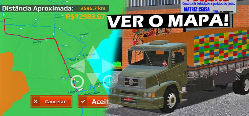 Atualização do World Truck Driving terá opção de ver mapa completo, confira as imagens!