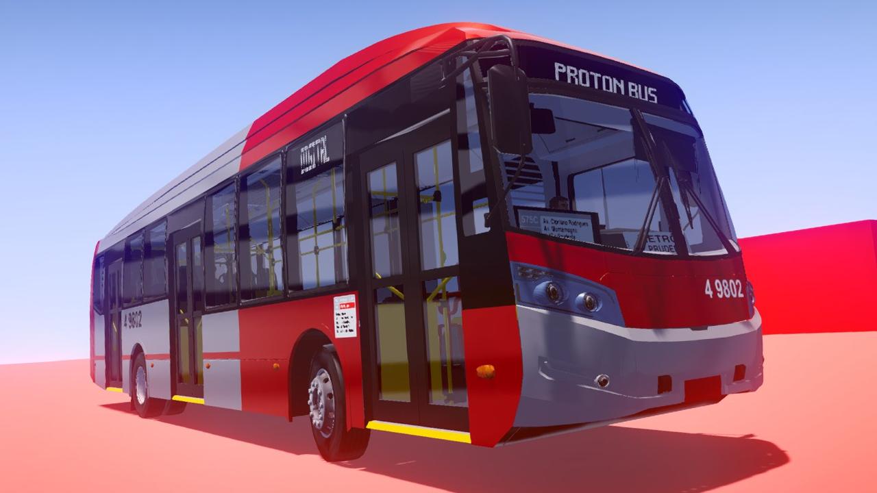 Proton Bus Simulator terá como tirar print em 360º, reflexos nos vidros e novas opções de letreiros