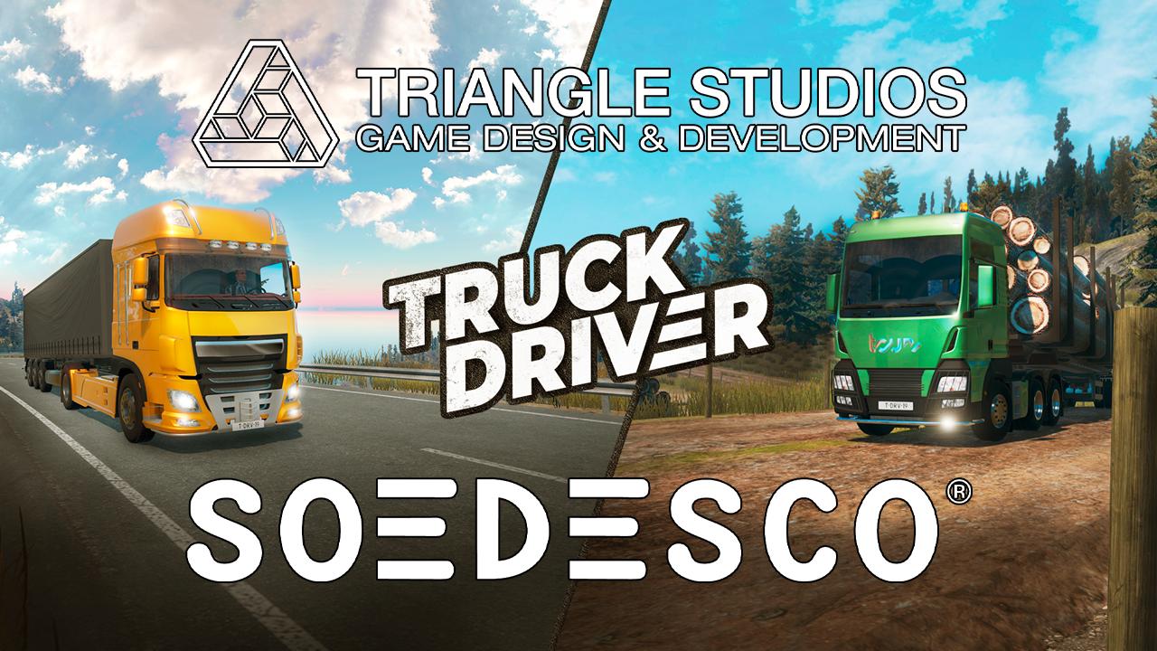 """Triangle Studios deixa o desenvolvimento do Truck Driver: """"não somos capazes de continuar a trabalhar no título"""""""
